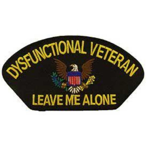 Patch - Hat Dysfunctional Veteran (PM1443)