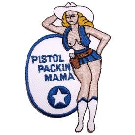 Patch - Nose Art Pistol Packin Mama (PM0850)