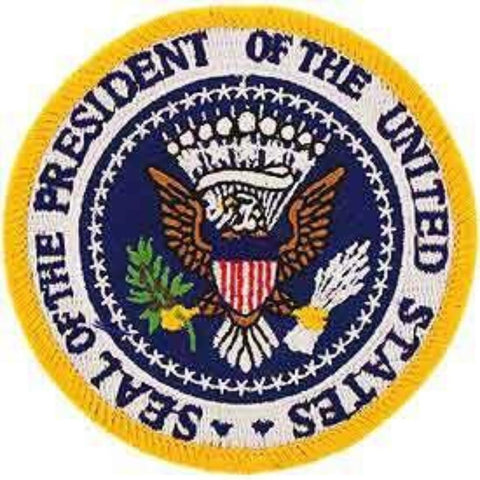 Patch - USA Seal President (EM-PM0721)