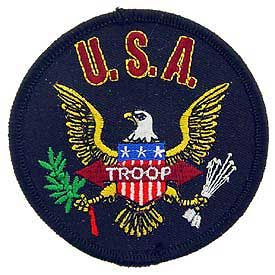 Patch - USA Troop (PM0181)
