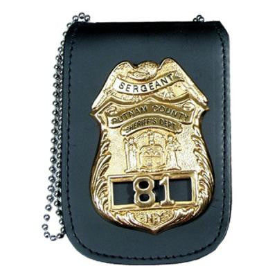 Perfect Fit Universal Badge & ID Holder w/Chain  (PF-705) - Hahn's World of Surplus & Survival