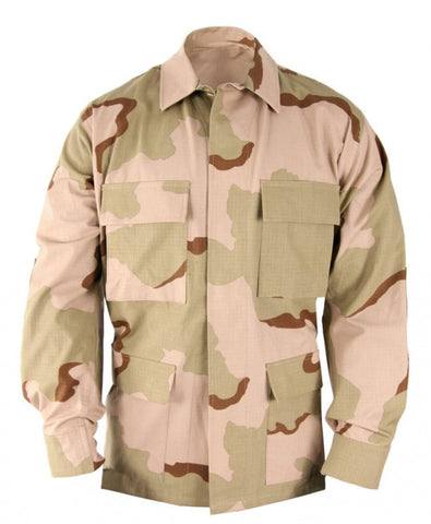 Propper BDU Coat - 3 Color Desert (F545455) - Hahn's World of Surplus & Survival