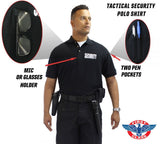 Preshrunk  Tactical Polo Shirt w/ Security ID