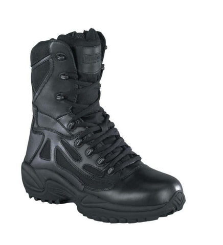"Reebok 8"" Rapid Response Black Side Zip Comp Toe Boot (RB8874) - Hahn's World of Surplus & Survival - 1"