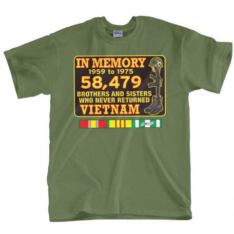 T-Shirt - In Memory Vietnam