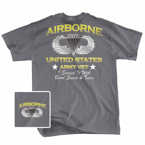 T-Shirt - Airborn US Army Vet