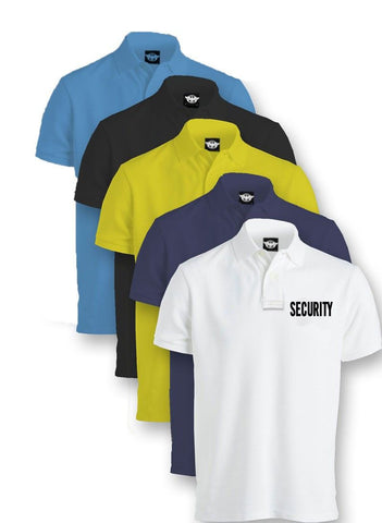 1st Class Uniforms Security Tactical Performance Polo Shirts (FCU-PS82SB)
