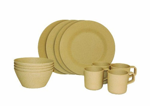 LIMITED Texsport Bamboo Pandaware Picnic Set (TS-14600) - Hahn's World of Surplus & Survival