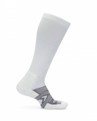 Thorlo Unisex WCOU Work Maximum Cushion Over-Calf Sock - White