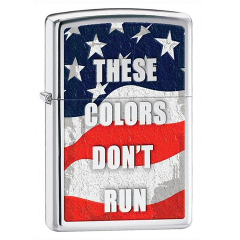 ZIPPO These Colors Don't Run Lighter (PCT-ZIP-28292) - Hahn's World of Surplus & Survival