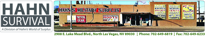 Hahn's World of Surplus & Survival