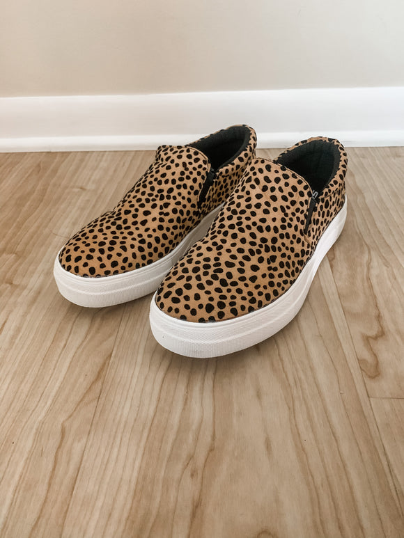 The Zora Leopard Slip On Sneakers **DOORBUSTER**