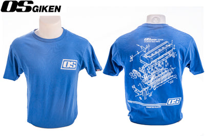 OS Giken TC24 Blueprint T-Shirt