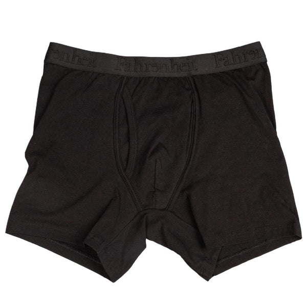 Newman Boxer Brief | Solid Black