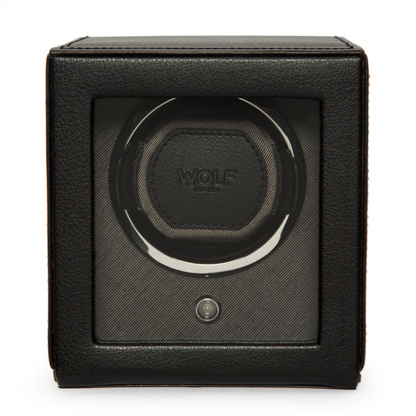 WOLF Cub Single Watch Winder with Cover