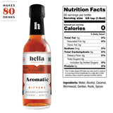 Hella Cocktail 5-Flavor Bitters Collection Set, 5oz
