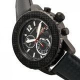 Morphic M51 Series Chronograph Leather-Band Watch w/Date