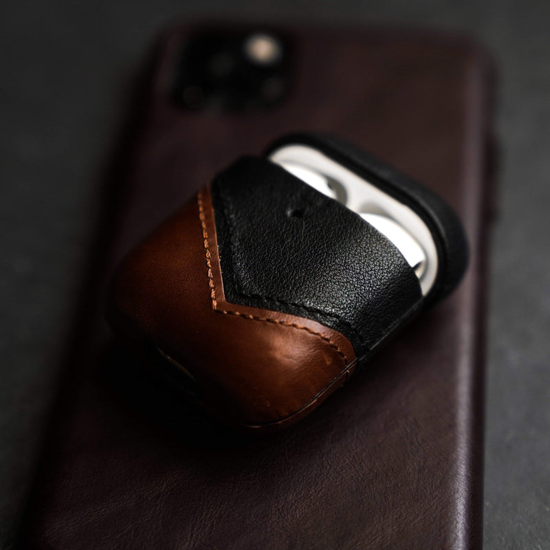 Leather AirPods Case - Terra