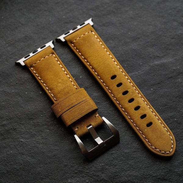 Leather Apple Watch Strap - Classic