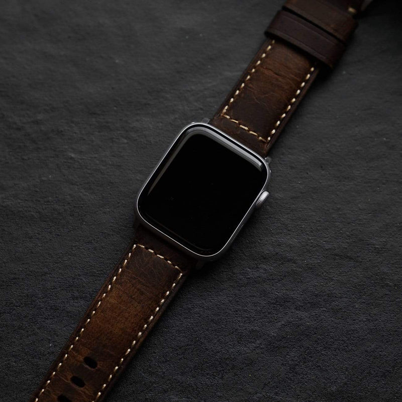 Leather Apple Watch Strap - Terra