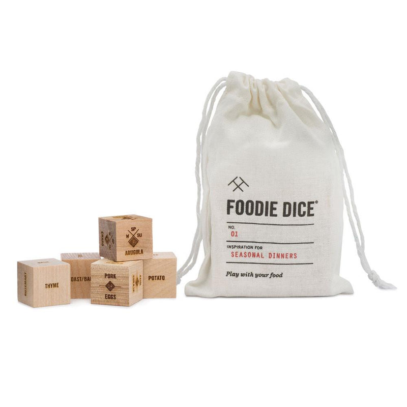 Foodie Dice No. 1 -  Seasonal Dinners Pouch
