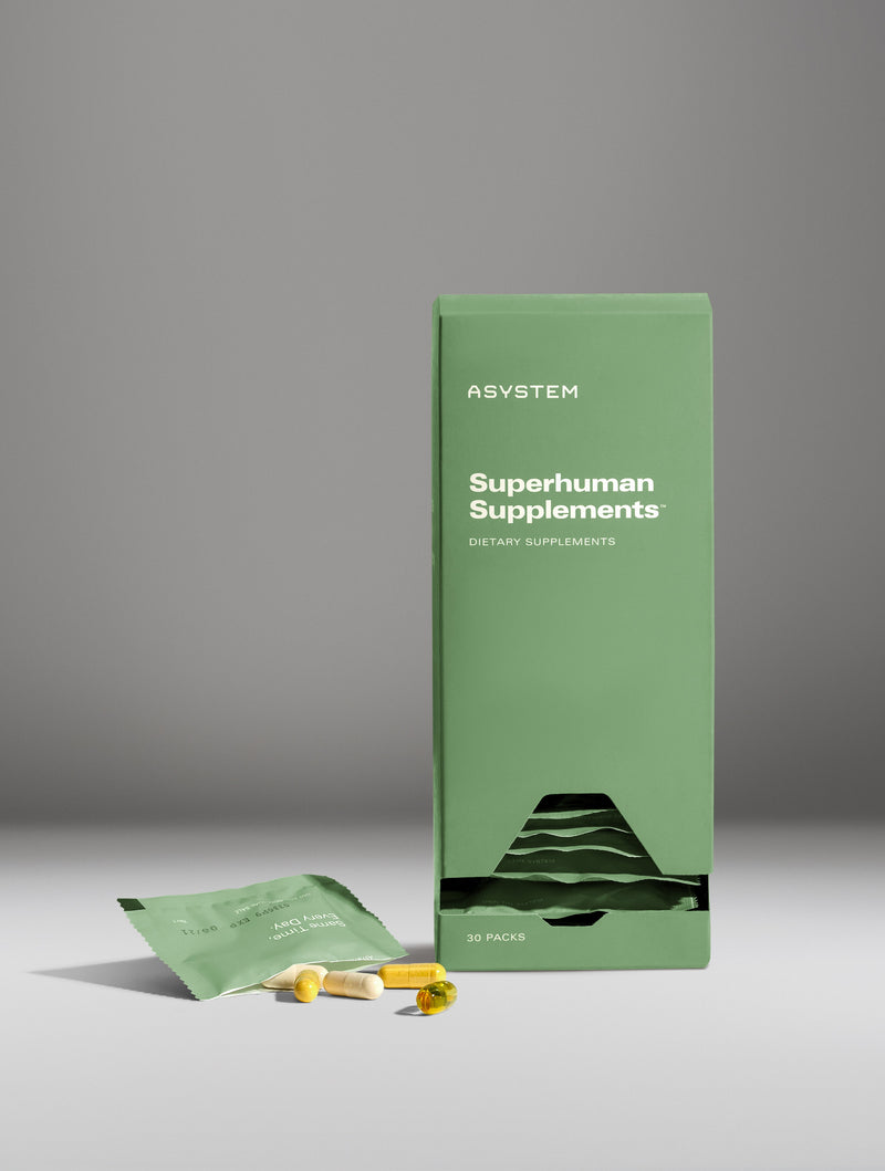 SUPERHUMAN SUPPLEMENTS Natural Energy and Immunity For Men