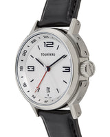TOURNEAU TNY GMT - Stainless Steel Automatic GMT Watch - 40 mm