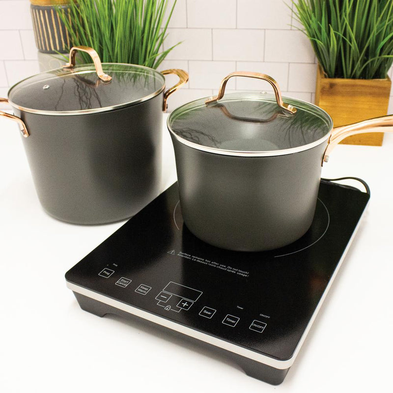 BergHOFF Tronic Touch Screen 1-Element 13 inch Induction Cooktop