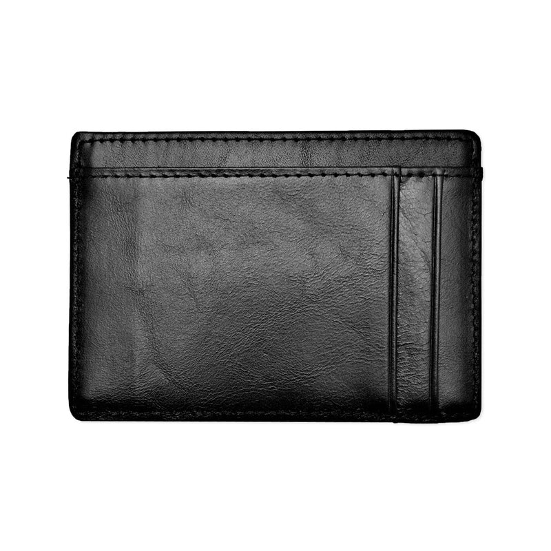 Leather Minimal Wallet 7-Slot Cardholder