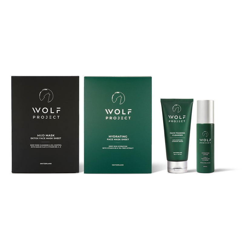 The Wild Men's Facial Care All-in-One Set