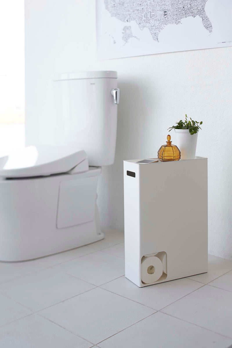 Plate Toilet Paper Stocker