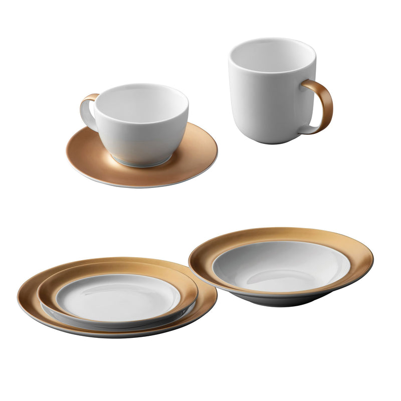 Gem Dinnerware 24 Piece Place Setting