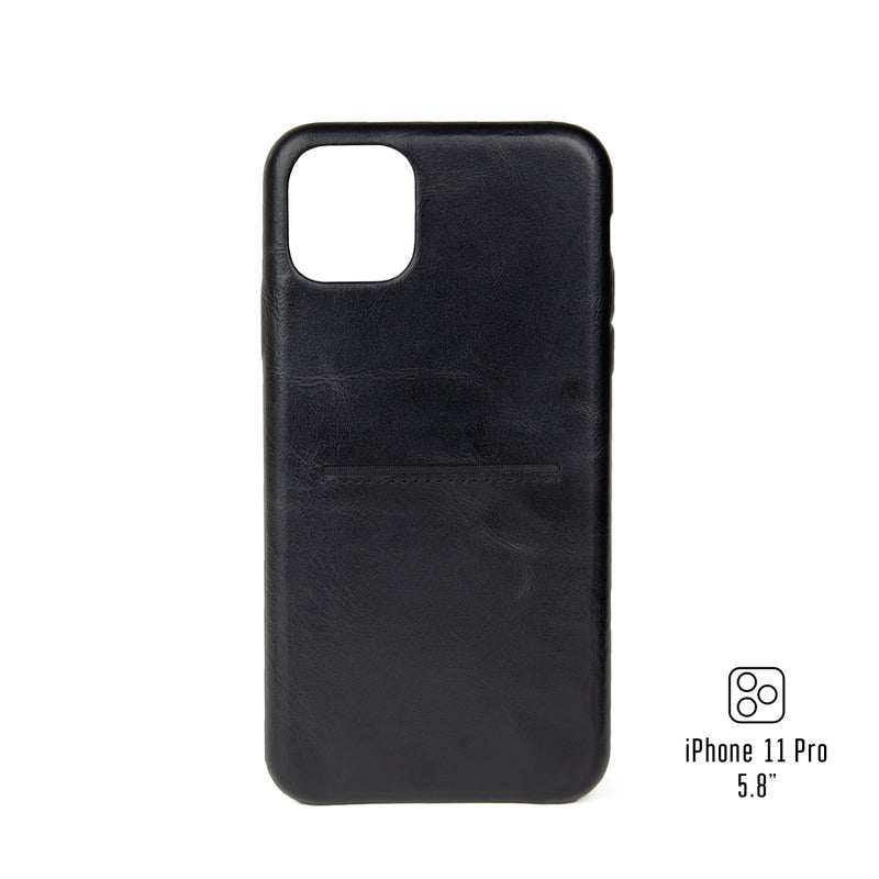 "Leather iPhone 11 Pro 5.8"" Cardholder Case"