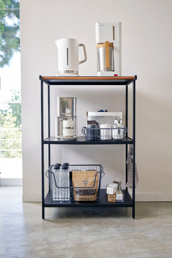 Tower 3-Tiered Storage Rack