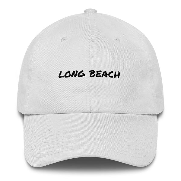 long-beach-dad-hat-white