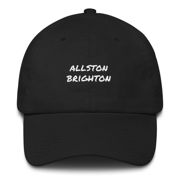 allston-brighton-dad-hat-black