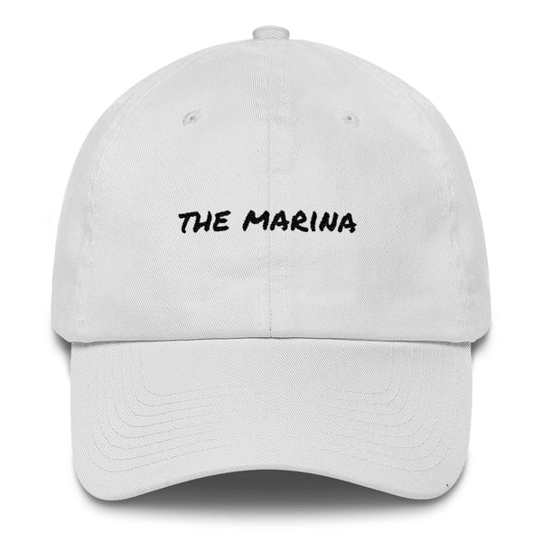 the-marina-dad-hat-White