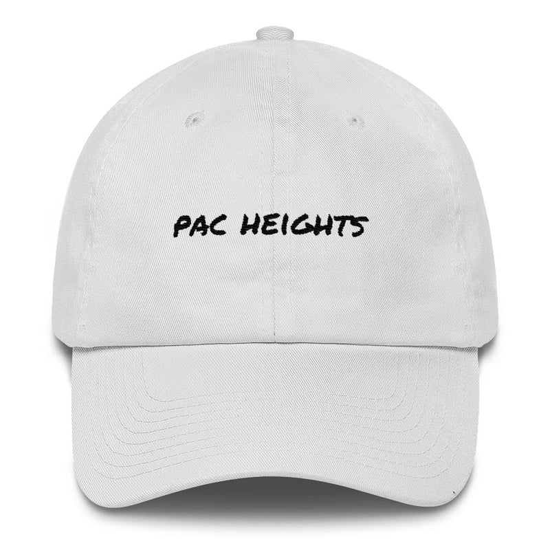 pac-heights-dad-hat-White