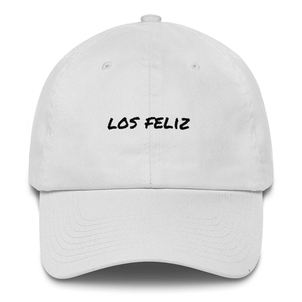 los-feliz-dad-hat-white