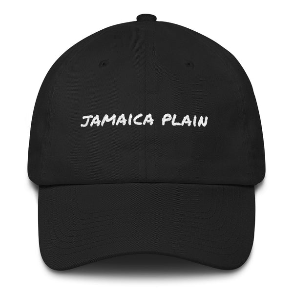jamaica-plain-dad-hat-black