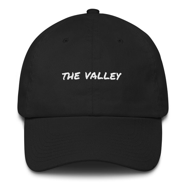 the-valley-dad-hat-black