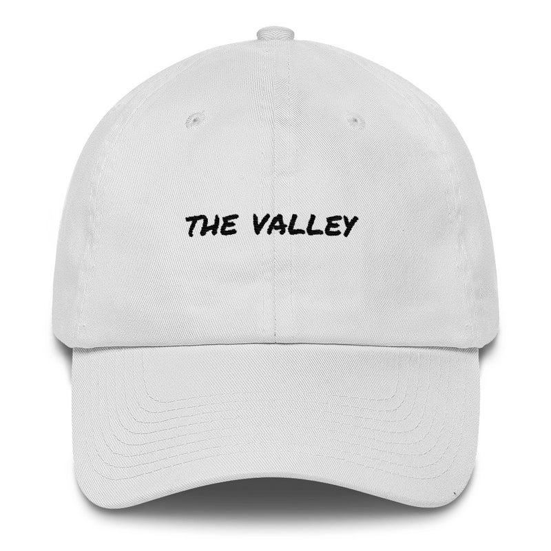 the-valley-dad-hat-white
