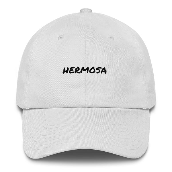 hermosa-dad-hat-white