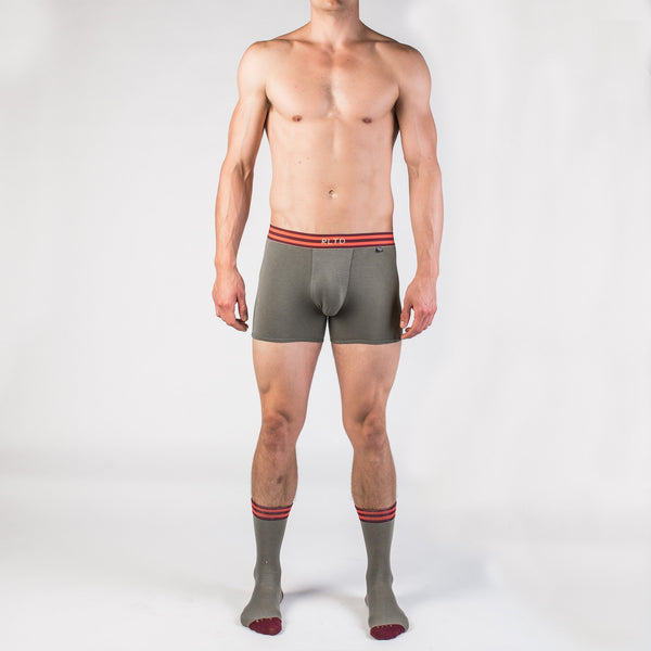 Boxer Briefs x Crew Socks x No-Show Socks 4-Pack Bundle