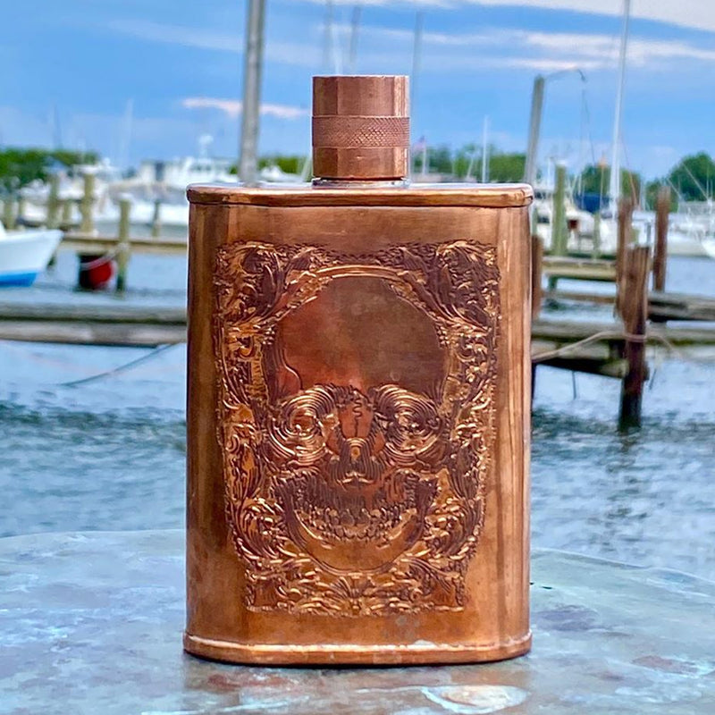 Limited Edition Skull Couture Flask
