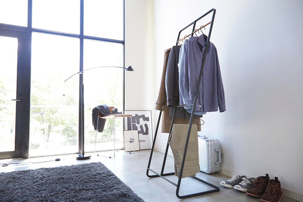 Tower 2-Level Coat Rack