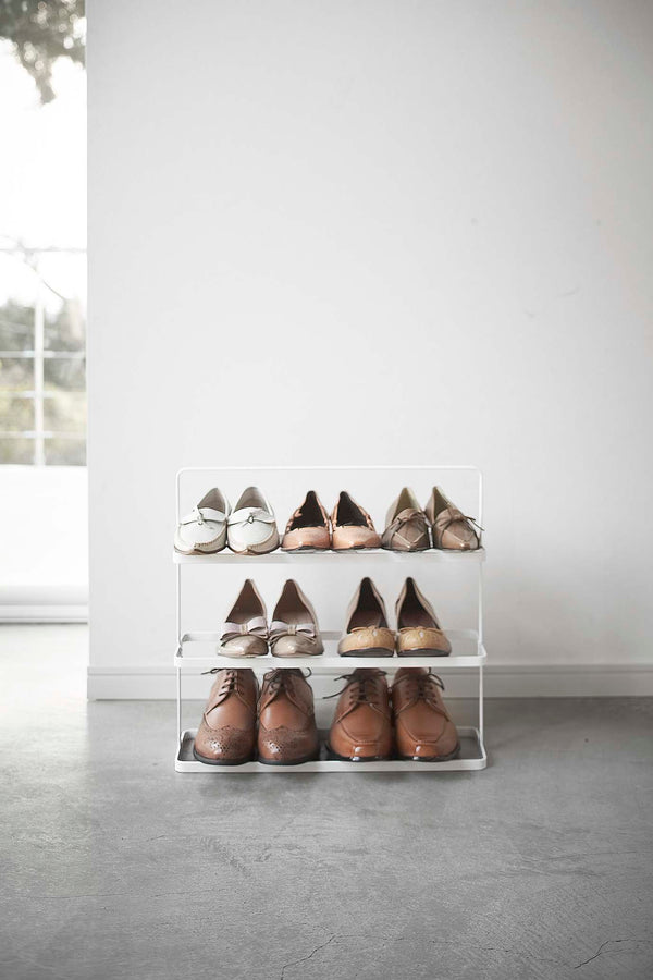 Tower 3-Tier Shoe Rack Wide