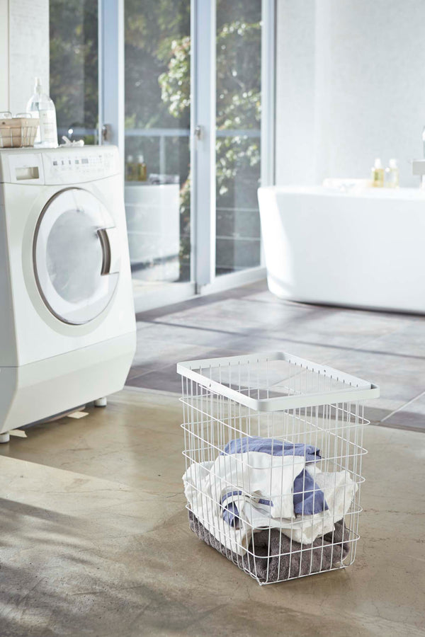 Tower Wire Laundry Basket Large