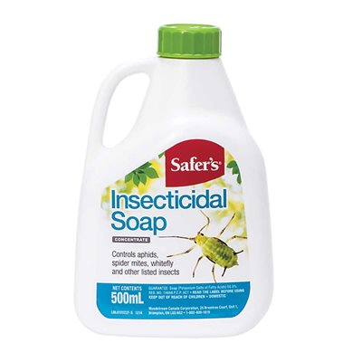 Safer's Insecticidal Soap Concentrate 500ml