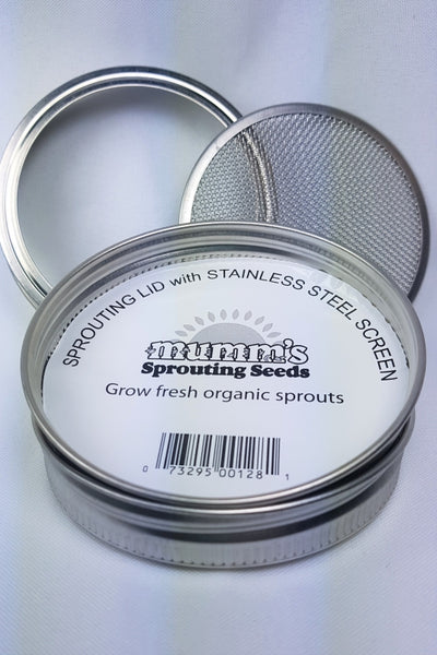 Mumm's Stainless Steel Sprouting Screen